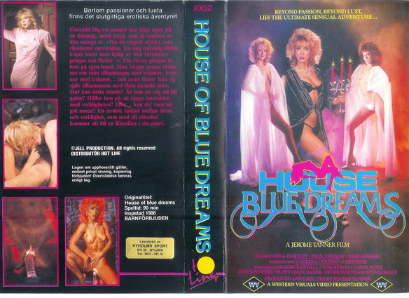 1002 HOUSE OF BLUE DREAMS (VHS)