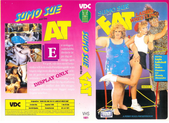 1021 SUMO SUE AND THE FAT LADIES OF WRESTLING  (VHS)