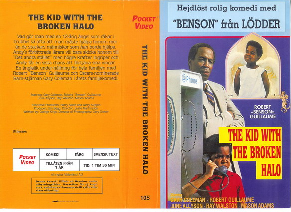 105 KID WITH THE BROKEN HALO (VHS)