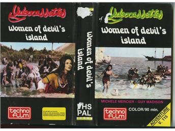 V.115 WOMEN OF DEVIL'S ISLAND (VHS)