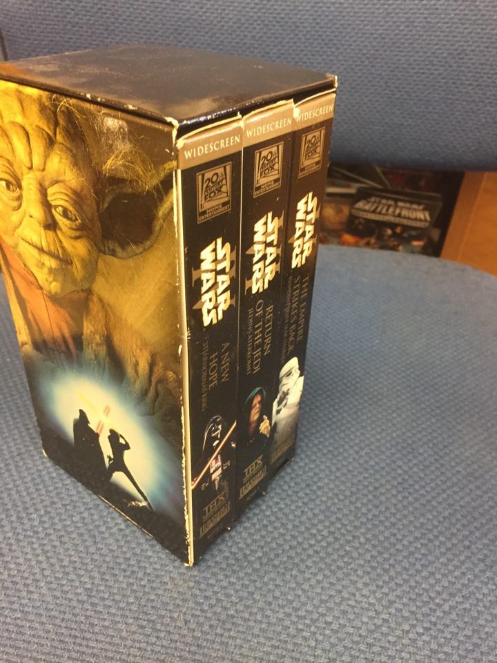 STAR WARS EPISODE 4-6 (VHS)
