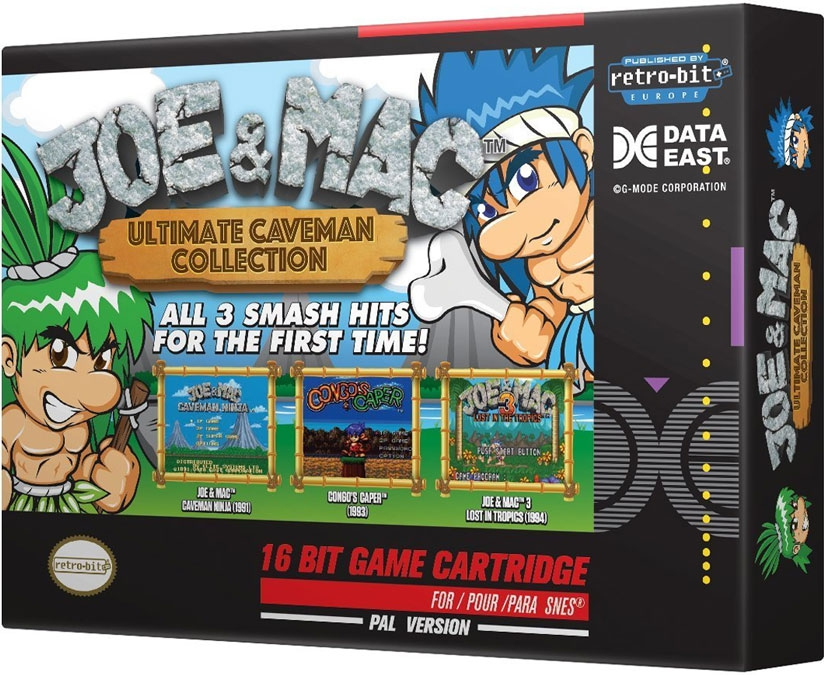 Joe & Mac Ultimate Caveman Collection (Retro-bit) [SNES]