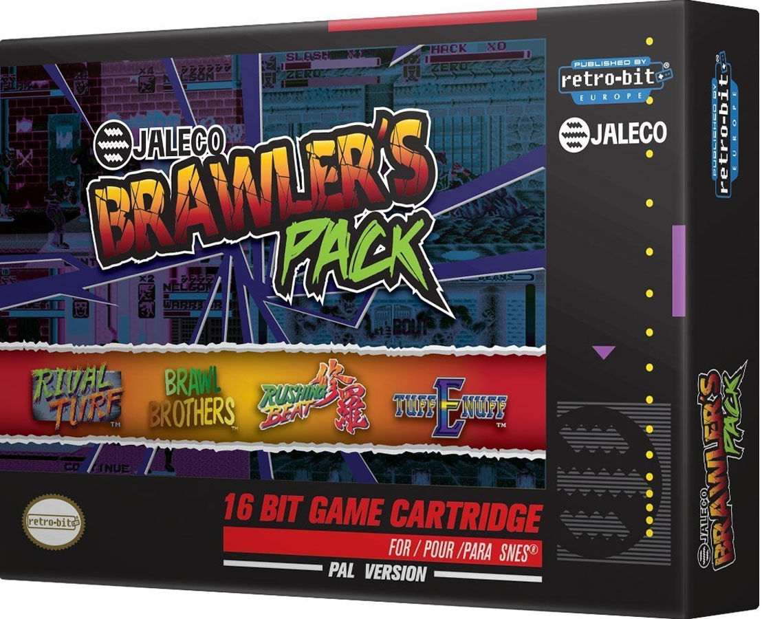 Jaleco Brawlers Pack (Retro-bit) [SNES]