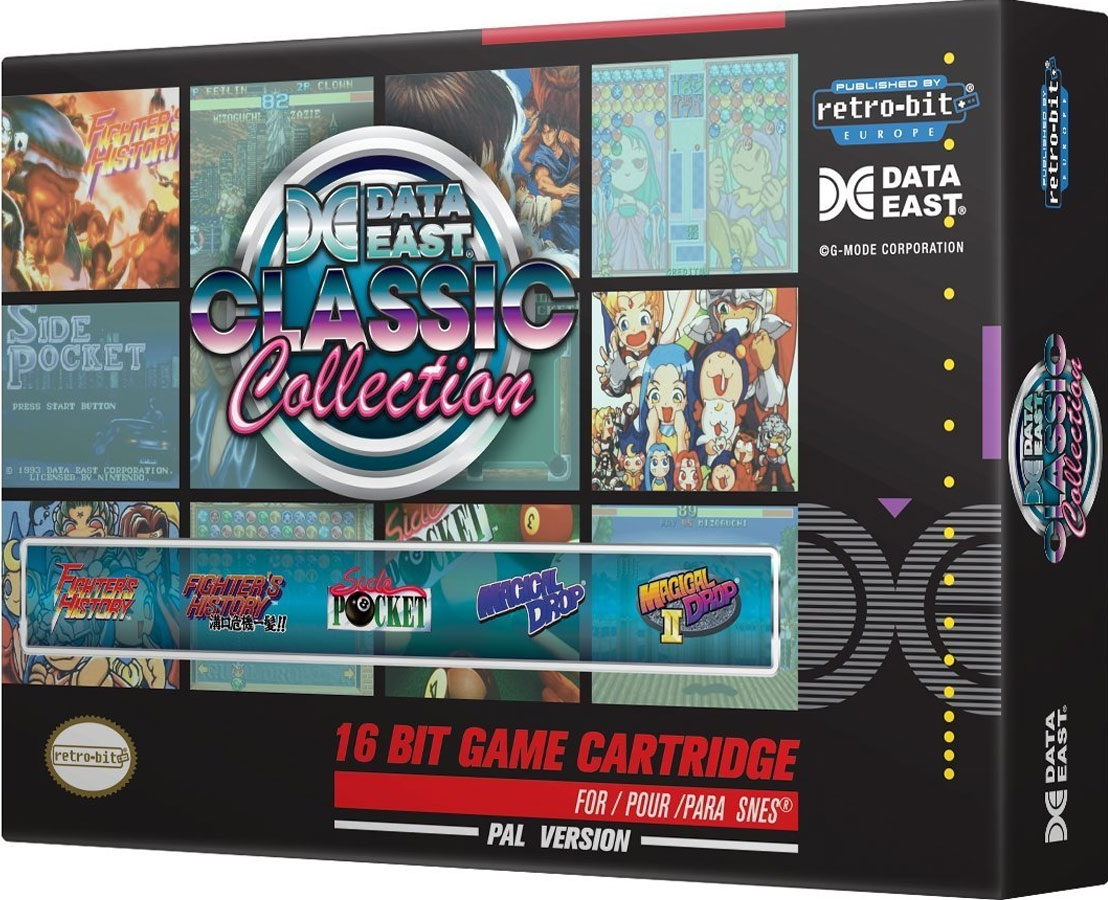 Data East Classic Collection (Retro-bit) [SNES]