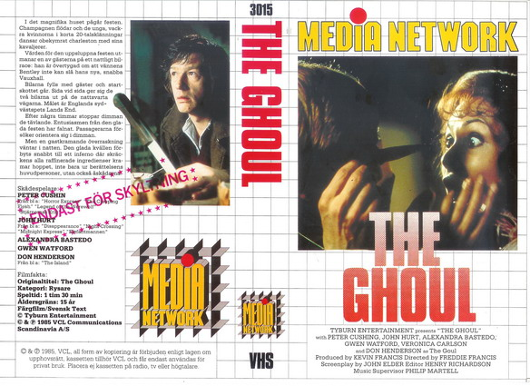3015 GHOUL (vhs)