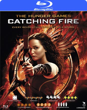 Hunger games 2 / Catching fire (Blu-ray) beg hyr