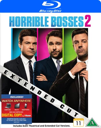 Horrible bosses 2 / Extended cut (beg Blu-ray)