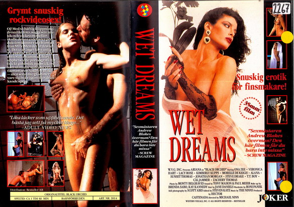 3914 WET DREAMS (VHS)