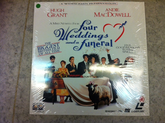 FOUR WEDDINGS AND A FUNERAL (LASER-DISC)