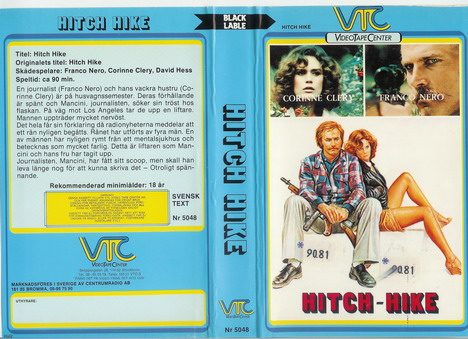 5048 HITCH HIKE (vhs)