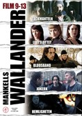 Wallander - Box 9-13 (beg dvd)