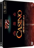 Casino - Steelbox (2 disc) beg dvd