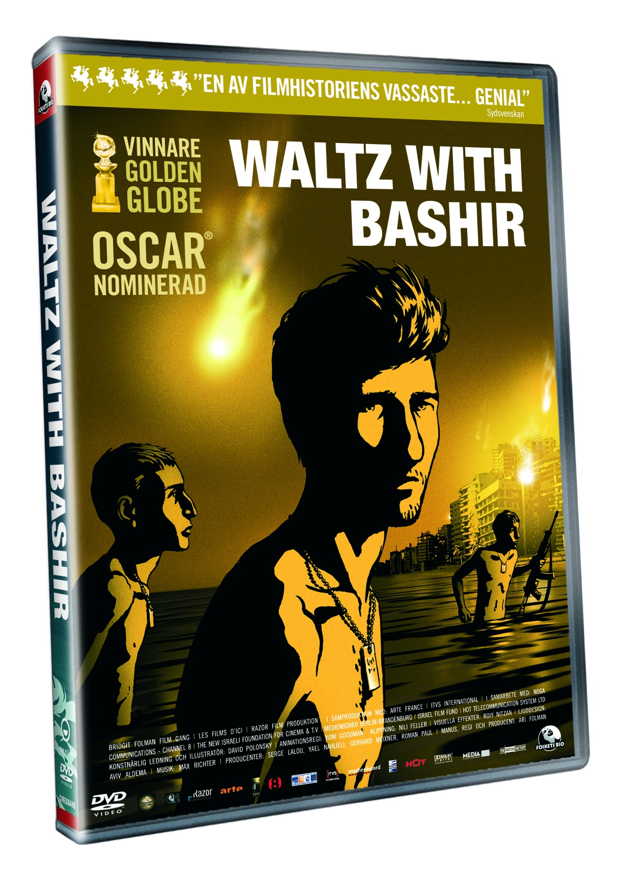 Waltz With Bashir (beg HYR dvd)