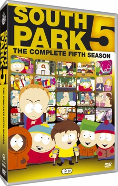 South Park Säsong 5 (beg dvd) usa import