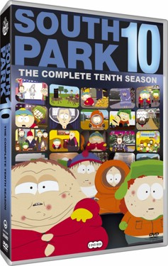 South Park Säsong 10 (beg dvd - usa import)