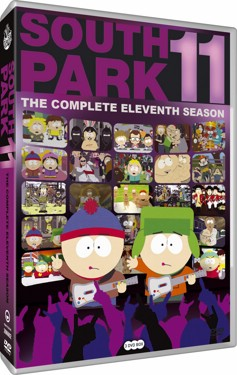 South Park Säsong 11(beg dvd) usa import