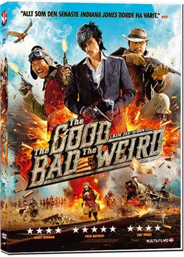 NF 296 The Good, The Bad & The Weird  (beg hyr dvd)