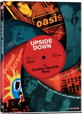 NF 446 Upside Down: The Creation Records Story (BEG DVD)