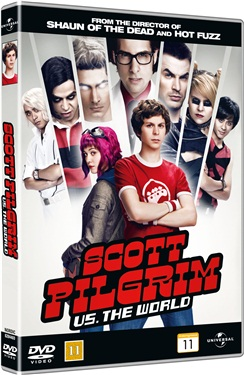 Scott Pilgrim vs. the World (beg hyr dvd)