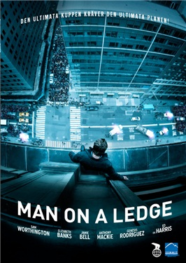 Man on a Ledge (beg hyr dvd)