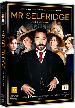 Mr Selfridge - Säsong 1 (beg dvd)