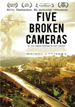 Five Broken Cameras (beg dvd)