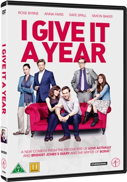 I Give It a Year (beg hyr dvd)