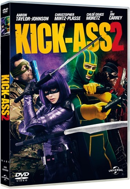 Kick-Ass 2 (BEG HYR DVD)