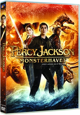 Percy Jackson: Monsterhavet (beg hr dvd)