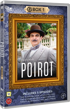 Poirot Box 1, 2009 (beg dvd)