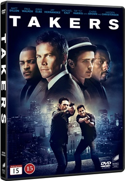 Takers (beg dvd)