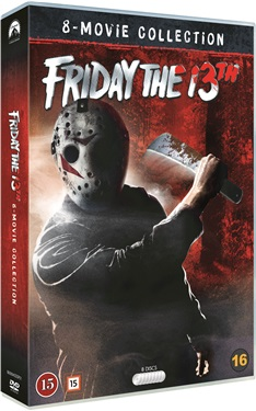 Friday The 13Th - 8 Movie Collection (8-disc) dvd