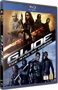 G.I. Joe The Rise Of Cobra (beg hyr blu-ray)