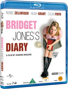 Bridget Jones' Diary (beg blu-ray)