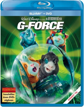 G-Force (beg hyr blu-ray)