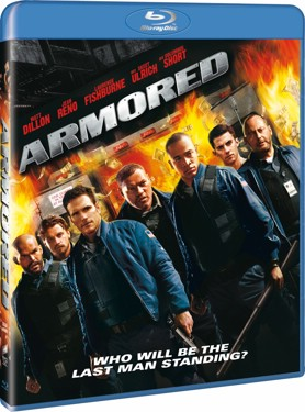 Armored (beg hyr blu-ray)