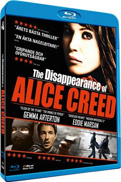 Disappearance of Alice Creed (beg hyr blu-ray)