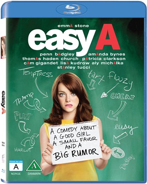 Easy A (beg Hyr blu-ray)