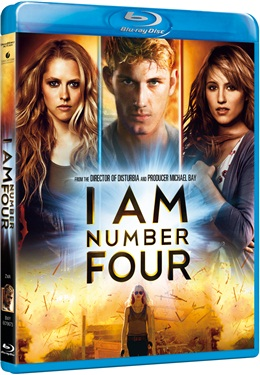 I Am Number Four (beg hyr blu-ray)