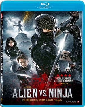 Alien vs. Ninja (BEG HYR BLU-RAY)