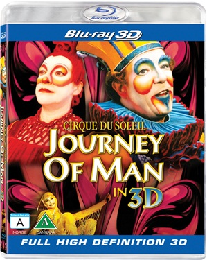 Cirque du Soleil: Journey of Man (3D)blu-ray
