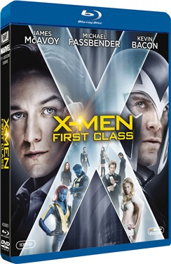 X-Men: First Class (beg blu-ray)
