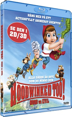 Hoodwinked Too! Hood vs. Evil (3D) beg hyr blu-ray