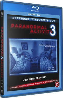 Paranormal Activity 3 (beg hyr blu-ray)