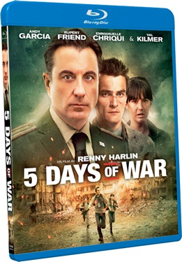 5 Days of War (beg hyr blu-ray)