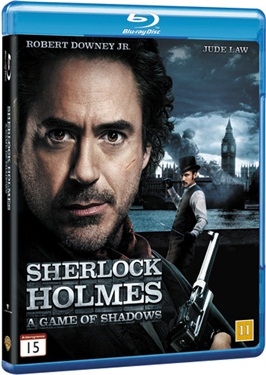 Sherlock Holmes - A Game of Shadows (beg hyr blu-ray)