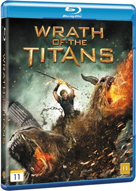 Wrath of the Titans (beg hyr blu-ray)