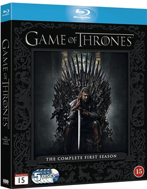 Game of Thrones - Säsong 1  (beg blu-ray)