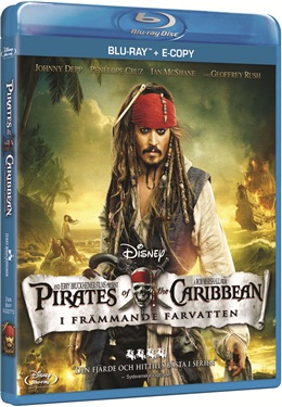 Pirates Of The Caribbean - I Främmande Farvatten (beg blu-ray)