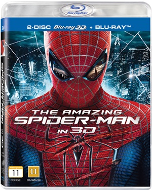 Amazing Spider-Man (3D)blu-ray
